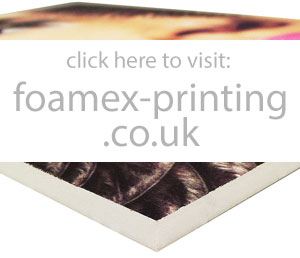 foamex and foam board printing