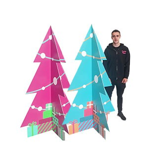 Christmas Tree Display Stand