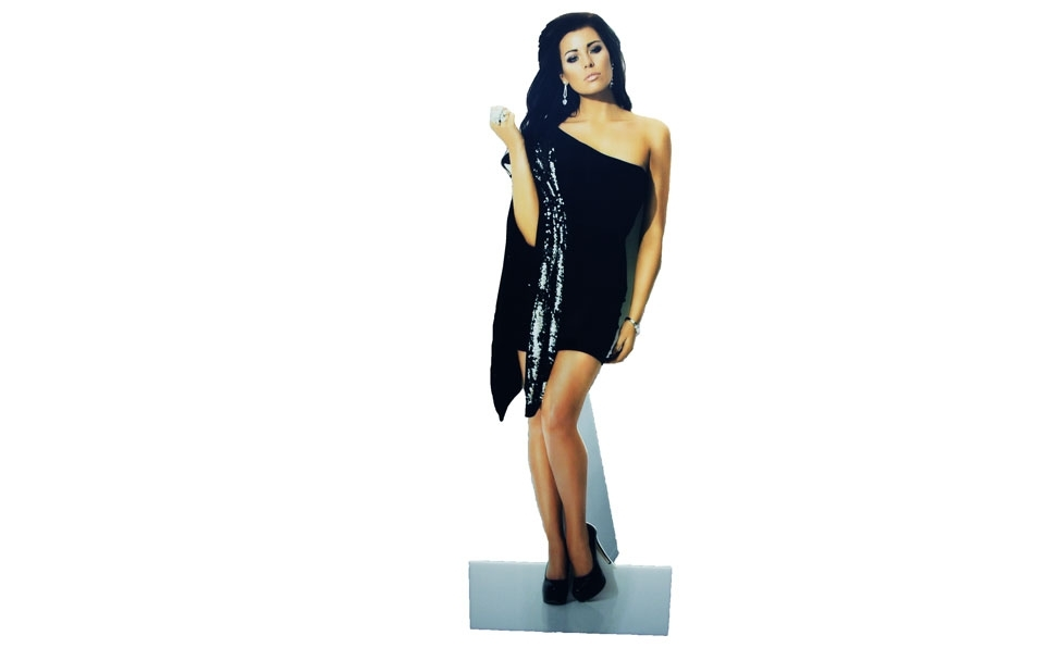 Cutout of Female Model